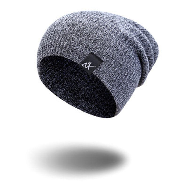4e0125a4ccce3 NEW Men Women Fashion Cotton Knit Baggy Beanie Oversize Winter Hat Ski  Slouchy Chic Cap Brown Gray Y18110503 Snapback Caps Baby Hats From  Zhengrui02, ...