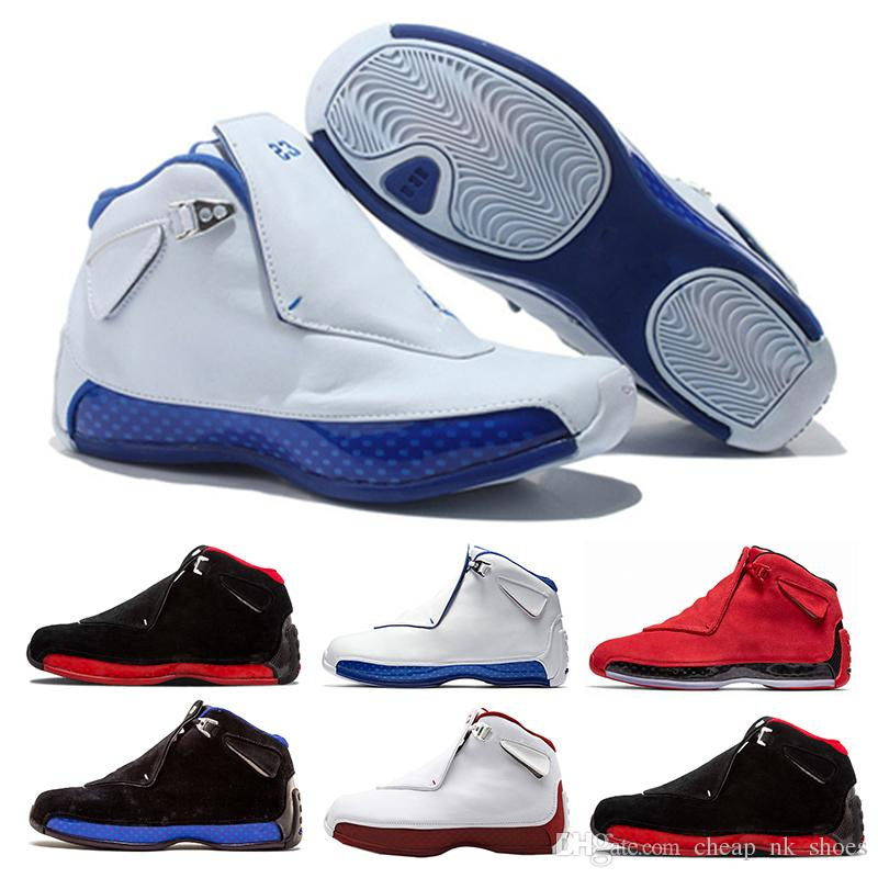 new style 4c326 691b4 New Arrival 18 Sport Royal Men Basketball Shoes Toro Gym Red Suede White  Blue Black 18s Mens Sports Shoes Trainer Sneaker Us 8 13 Jordans Sneakers  Sneakers ...