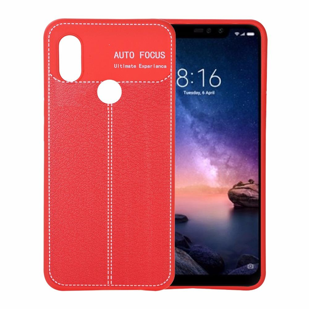 Litchi Tpu Phone Cover For Xiaomi Redmi 4a 4x 5 5a S2 Plus Note 4 Auto Focus Pro New 6 6a Case Cell Carrying Cases Cheap From