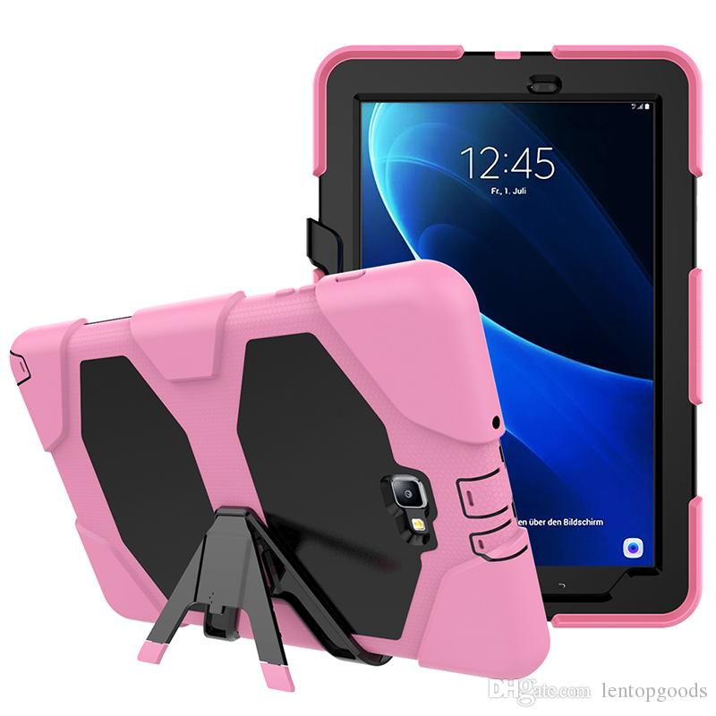 Silicone Case with Kickstand for Samsung Galaxy Tab A 7.0 SM-T280 SM-T285 T280 T285 Tablet