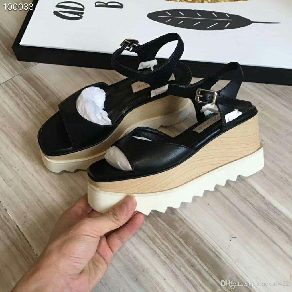 9a76c5c5e5 New Summer Popular Women Wedge Sandals Heart Shaped Peep Toe Platform Heel  Shoes Sexy Trend Fashion Ladies Shoes Size 35 39 Cute Shoes Leather Sandals  From ...