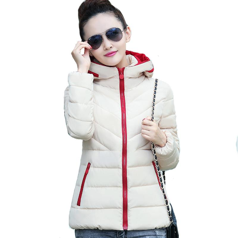 ab9696aa2e35b Big Size 3XL Hooded Winter Women Jacket Ultral Light Colors Short Jaqueta  Denim Autumn Female Coat Outerwear Jeans Jackets Cheap Leather Jacket From  ...