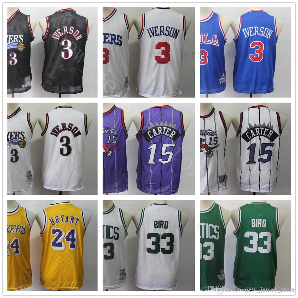 8ca0d851e17 Youth Kids KID Stitched Retro Jersey Cheap Top Quality Blue White ...