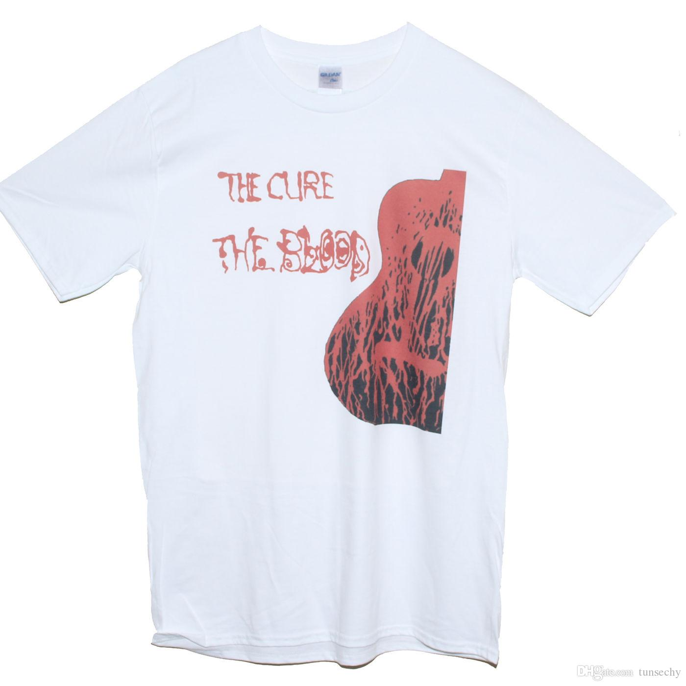 c80d1d60 THE CURE T SHIRT New Wave Bauhaus Festival Band Graphic Tee SIZES S M L XL  XXL Cool Shirt Designs T Shirt Quotes From Tunsechy, $11.16| DHgate.Com