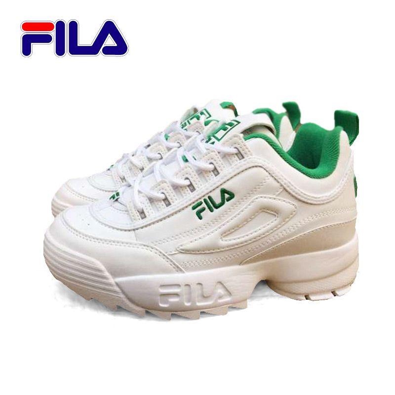 New White Fila Shoes Running Green Original 2 Ii 2018 Fs1htz3071x vzqYOgwv