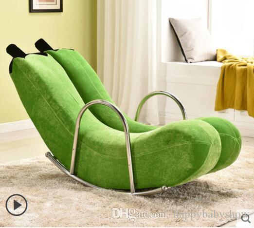 Exceptionnel High Quality Brand New Banana Rocking Chair New Sofa One Pcs / CTN Lint  Material Single Chair G23 Chiar Sofa Rocking Chair Online With $499.0/Piece  On ...