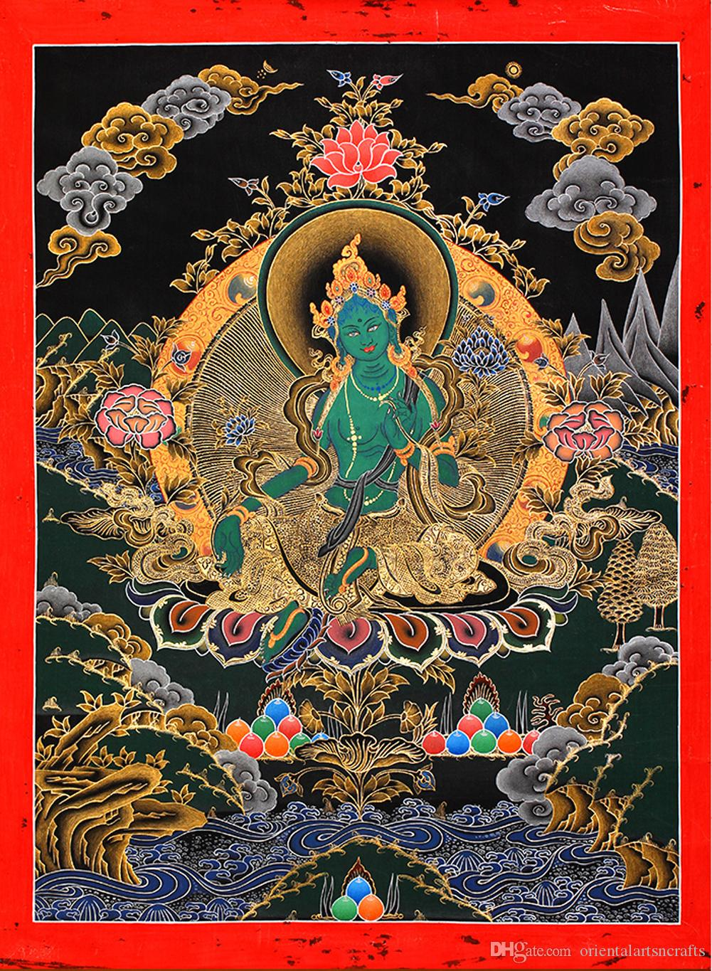 Antiques The Cheapest Price Thangka Tibet