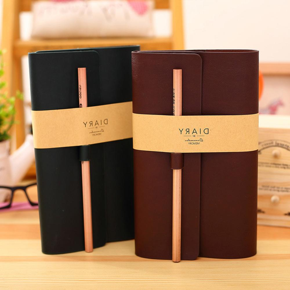 New shop Leather Notebook Business Office Papeterie Diary Journal  Sketchbooks Refill Notebooks Kids WJ-BJB-38-