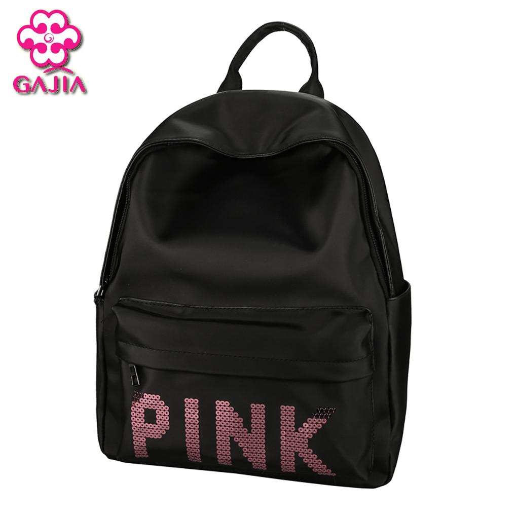 Gajia 2018 Women Backpack For School Teenagers Girls Boys Bags Sequins Cute  Back Pack Canvas Printing Backpacks Travel Girl Backpacks Toddler Backpack  From ... 04bf25218f10f