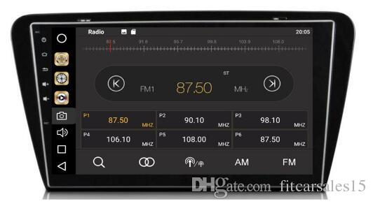 8-Core 4GBRam 32GB Rom Android 8.0 10.2inch Car Dvd Gps for VW Skoda Octavia 2014 2015 Radio Multimedia GPS NAVI Audio