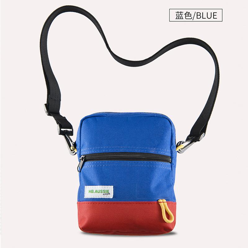 460ed47b39f6 Patchwork Color Shoulder Bag Men Blue Red Bag Women Crossbody Bags Mini  Back Pack Fashion 2018 Wallet Messenger Men Small Womens Handbags Body Bags  From ...
