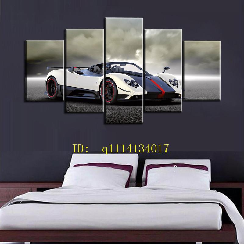 2019 Pagani Zonda Cinque Roadster Canvas Prints Wall Art Oil