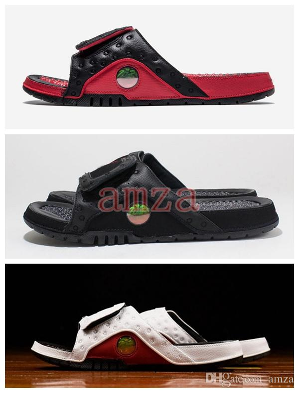 57bfe2b0f 2018 New Hydro 13 Sandals XIII Real Cat Eye Men Slippers for High ...