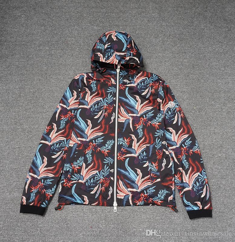 Top Quality Italy Luxury Jackets Cock Print High Streetwear Cloth
