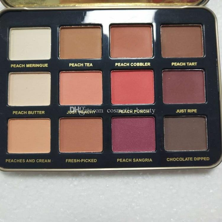 Latest face Just Peachy Mattes Eyeshadow Palette Eyeshadow Makeup velvet matte eye shadow palett