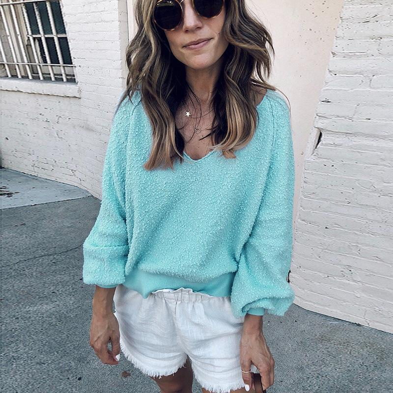 df5ebdebaf4 Good Quality Women s Casual Loose Sweater 2018 Autumn And Winter ...