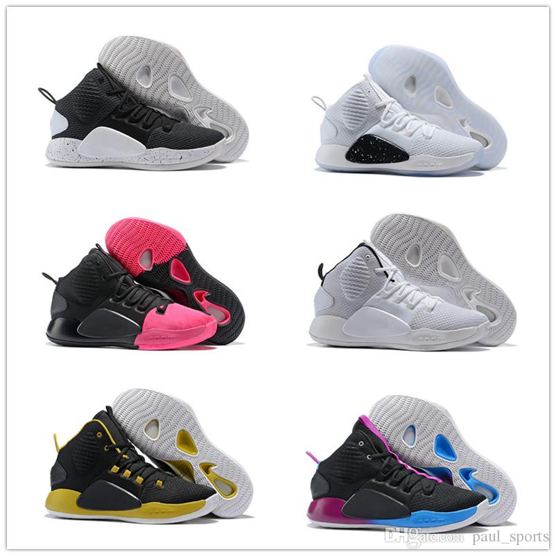 Hyper Dunk 2018 New Basketball Shoes For Good Quality Black White