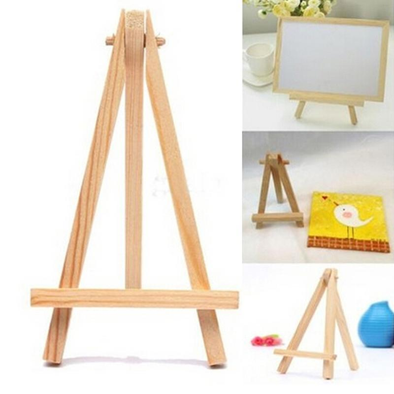 2018 mini wood artist tripod painting easel for photo painting