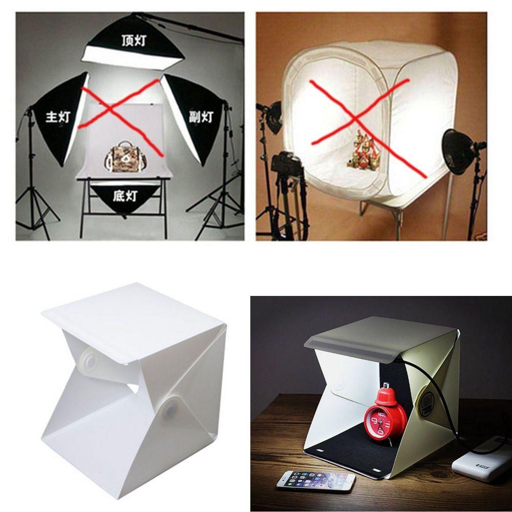 2018 Soft Box Mini Studio Photo Camera Photography Lighting Tent Kit ...