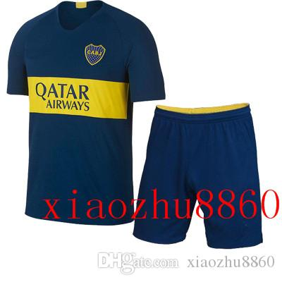 18 19 Boca Sports Kits Soccer Jersey 2018 2019 CARLITOS Juniors ... 52c696d70