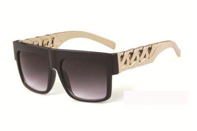 8597c798a8 Oversized Mens Sunglasses Retro Vintage Brand Designer Sun Glasses For Men  Big Frame Black Gold Silver Gafas De Sol Hombre 9941 Prescription Glasses  ...