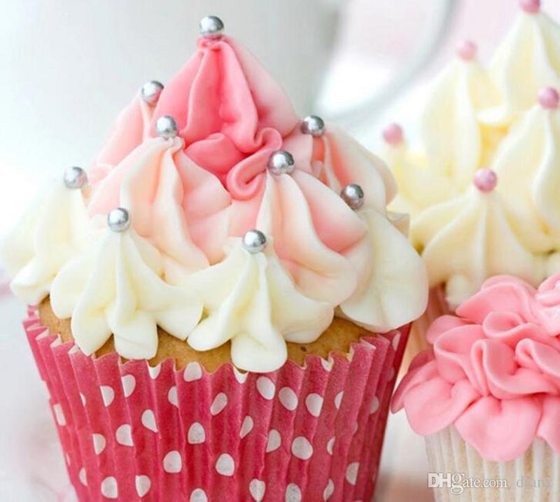 30 stilar Födelsedagsfest papper Bakkoppar Cupcake Liners Muffin Fodral