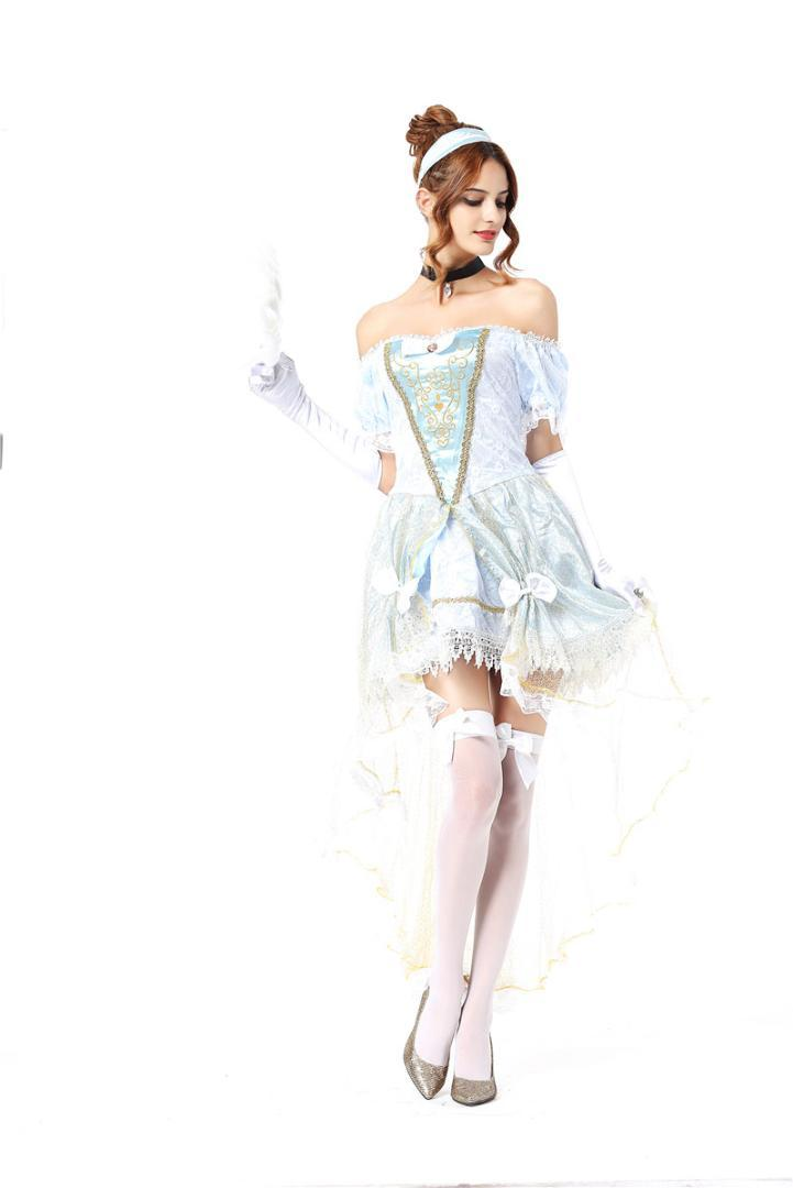 4ba77f24223 White Snow Costume Cinderella Princess Dress Women Sexy Halloween Costumes  For Women Adult Carnival Costumes Womens Dresses Family Halloween Themes  Best ...