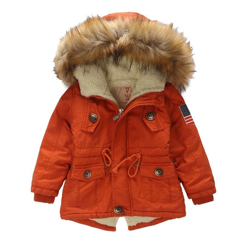 f44b2f0586e1 Teens Christmas Snowcoat Kids Winter Coat 2018 New Fashion Outerwear ...