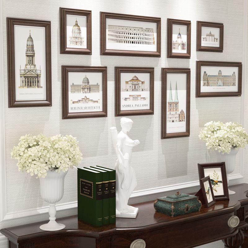 Collage Photo Frame,Vintage Picture Frames Porta Retrato,Square Wall ...