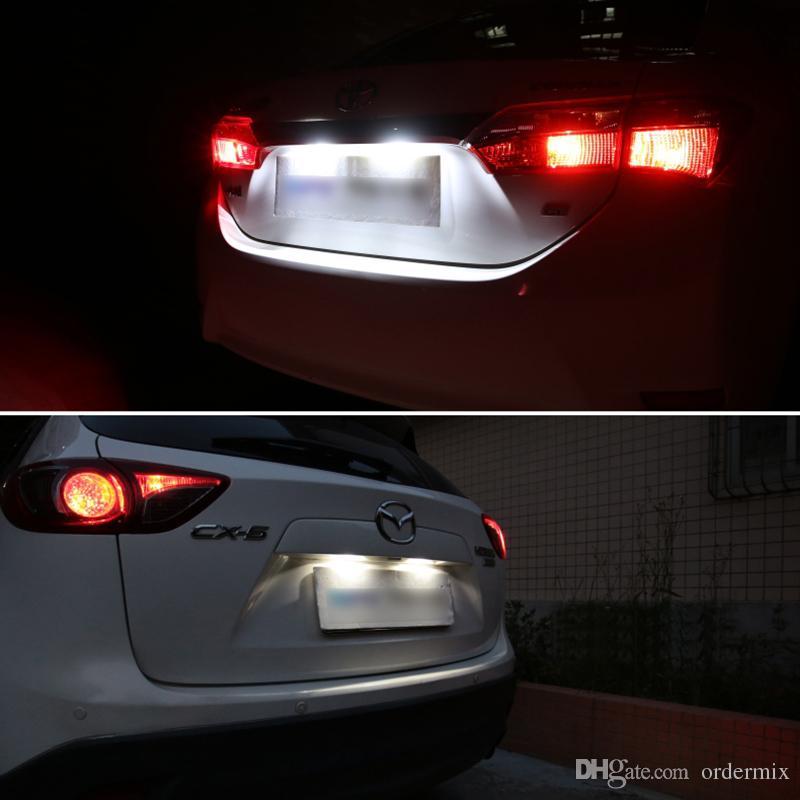 1 unids Blanco Canbus Festoon LED luces 36 mm C5W C10W DE3175 6 SMD 5630 5730 Sin error Auto Auto Interior del mapa Lámpara de la Cúpula