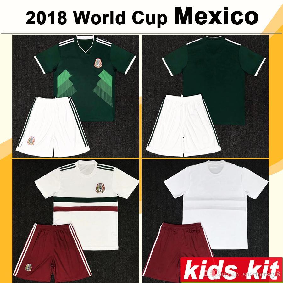 658430599 2019 2018 Mexico Kids Football Kit World Cup Home Away CHICHARITO R.JIMENEZ  Child Soccer Jerseys México H.LOZANO A.GUARDADO Kits De Fútbol From  Sportjersey8 ...