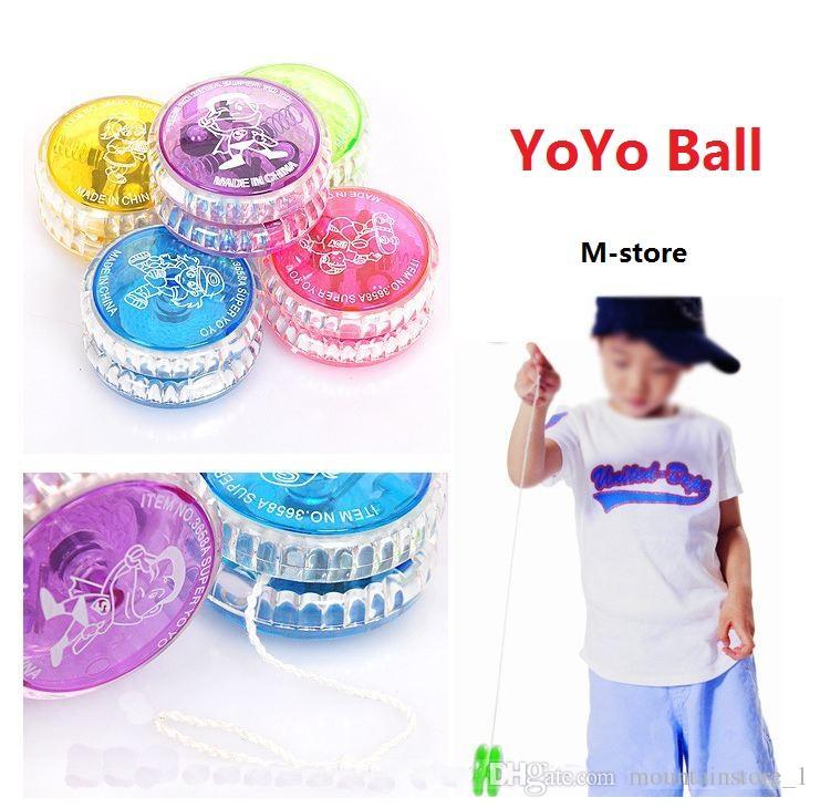 Hot Luminous Toy New LED Flashing Yo Yo Child Clutch Mechanism Yo-Yo Toys for Kids Party/Entertainment Bulk Sale