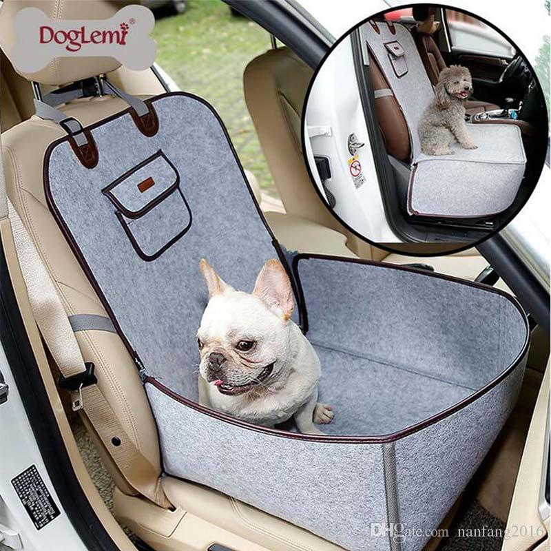 Pet Car Seat Cover Waterproof Puppy Basket Anti-Silp Pet Carrier Cat Booster Outdoor Travel Pet Protecto