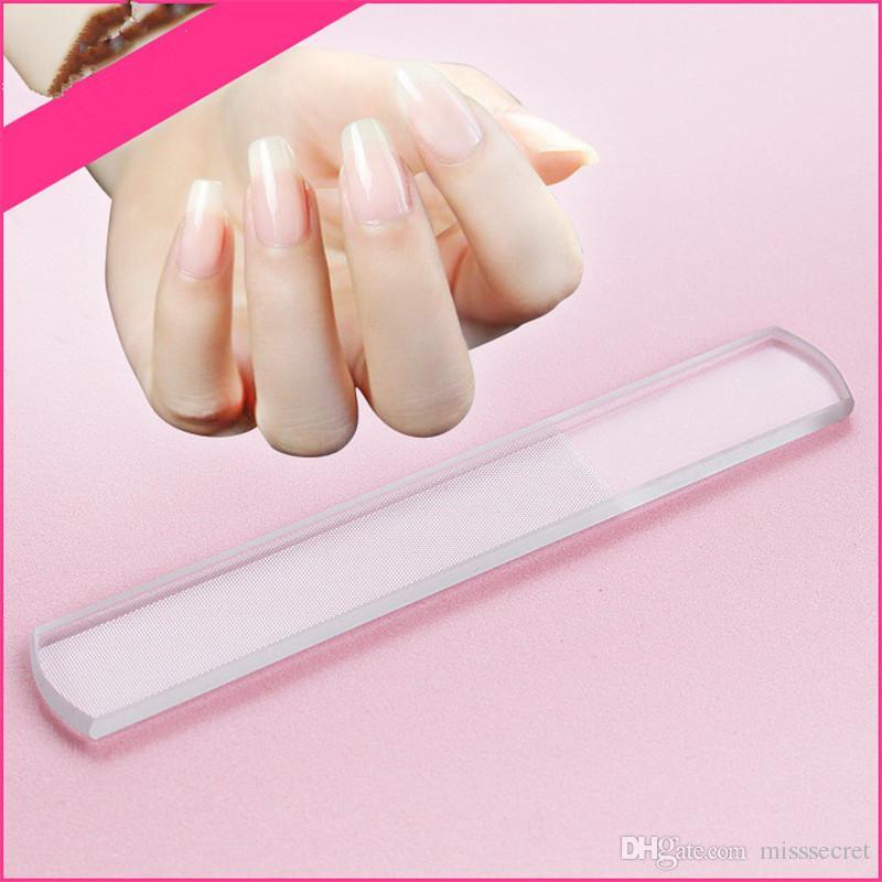 Hot Durable Crystal Glass Nail File Nail Art Buffer Files Manicure ...