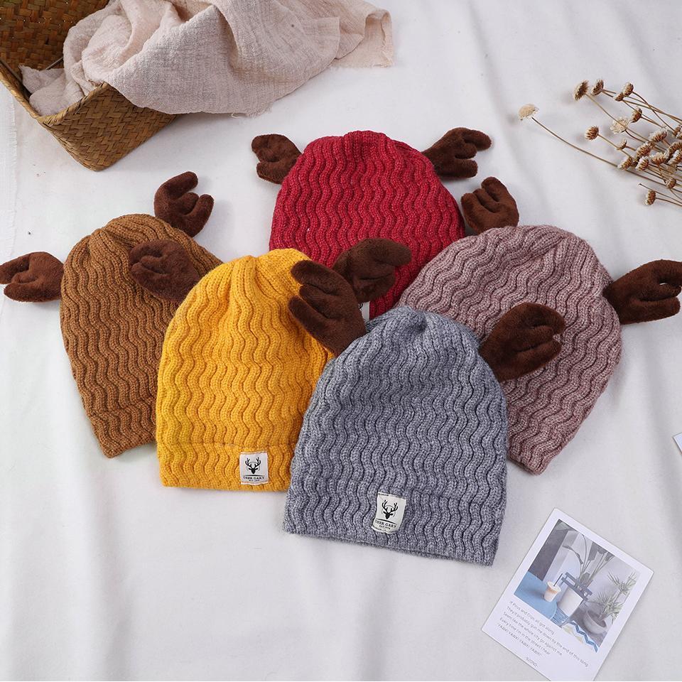 97b4ec423df7a Compre 2019 Crianças Meia Quente Chapéu Moda Chapéus De Inverno Meninos  Meninas Skullies Gorros Cap Tricô Crochê Caps Chapéu Para Crianças De  Longanguo