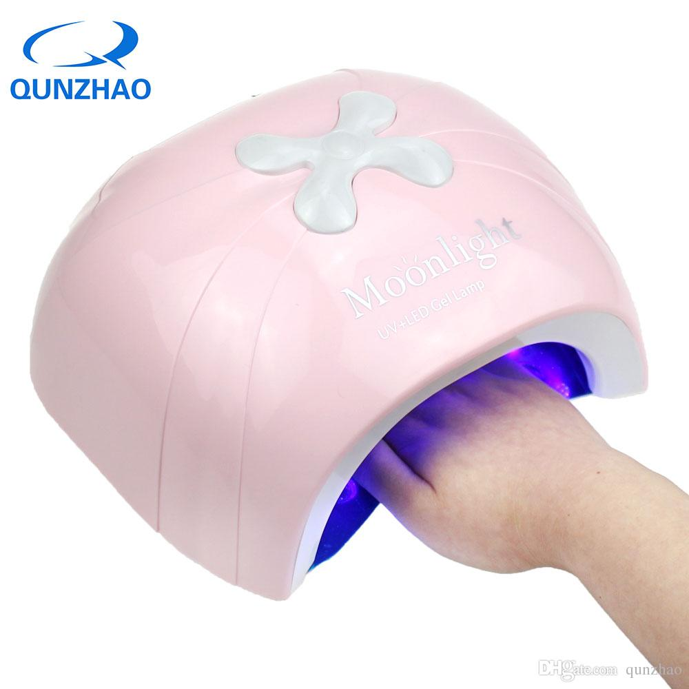 New Arrival Pink UV LED 48W Nail Dryer Lamp For Nails Gel Nails UV ...