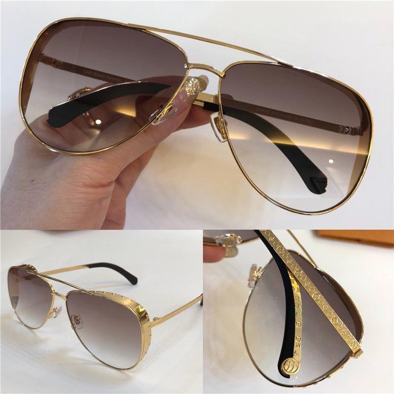 bd3bf604dd18 2018 New Fashion Designer Sunglasses Metal Pilot Frame Simple Summer ...