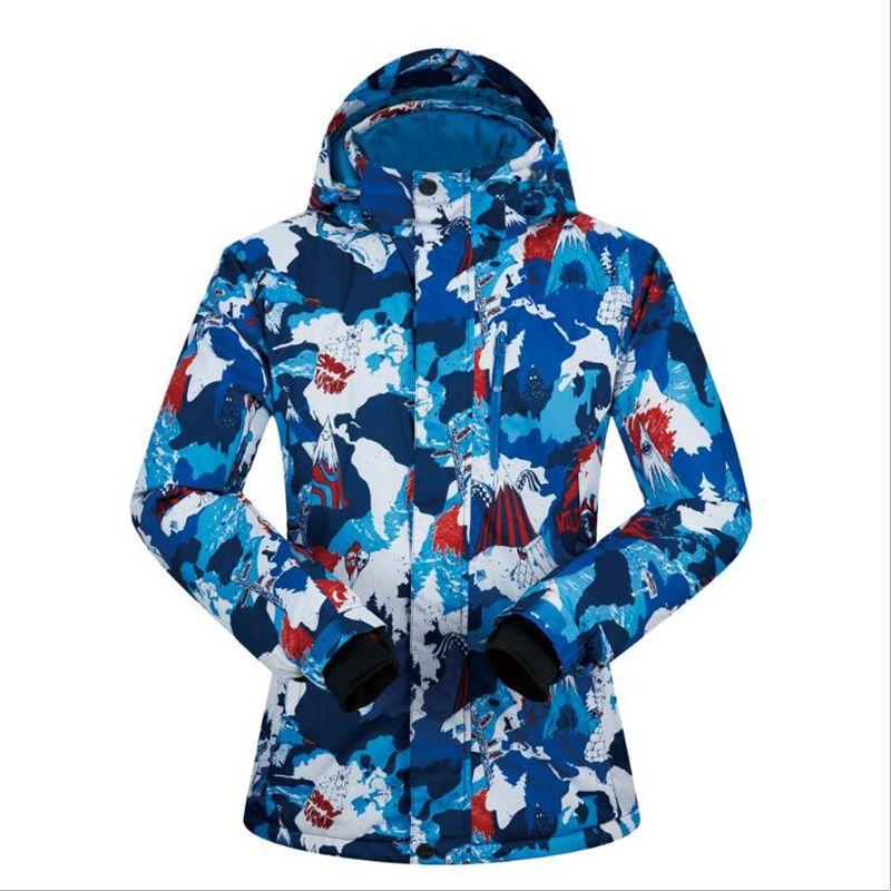 fedcd54659 2019 2018 MUTUSNOW Men Ski Jacket Snowboard Jacket Windproof Waterproof  Outdoor Sport Wear Skiing Super Warm Thicken Male Winter Coat From  Dragonfruit