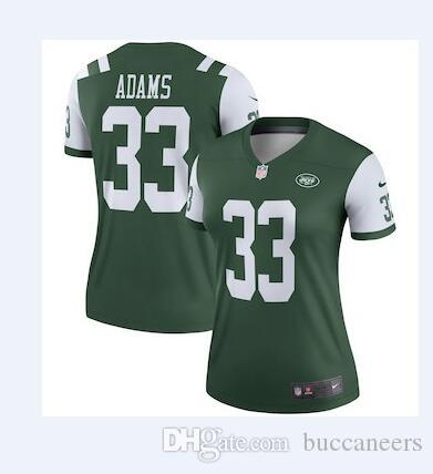 8e7e548da Men s 14 Sam Darnold Jersey NY New York Jets 33 Jamal Adams Joe ...