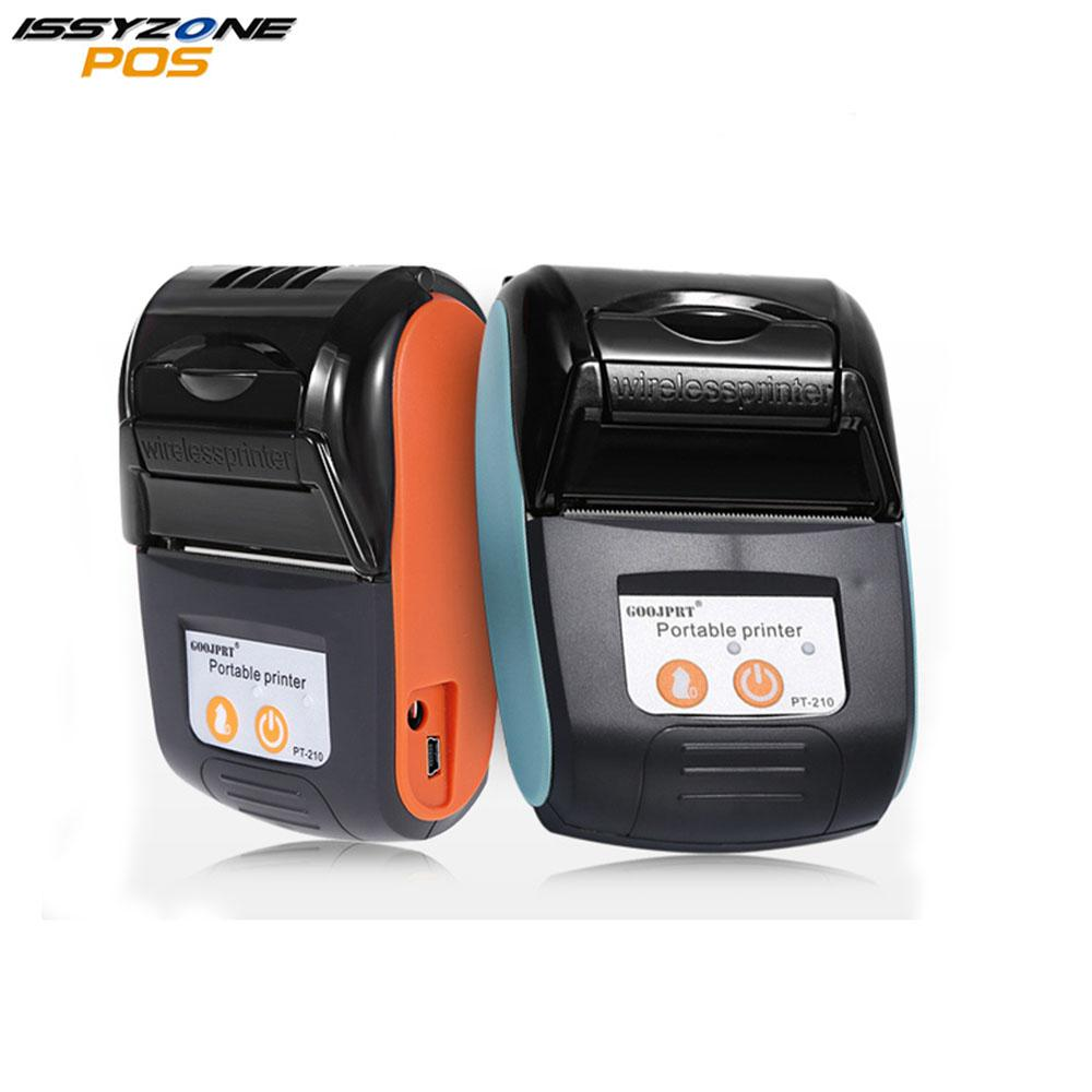 IssyzonePOS Bluetooth Thermal Printer 58MM Portable Mini Wireless Receipt  Machine Free SDK for Windows Android IOS IMP026