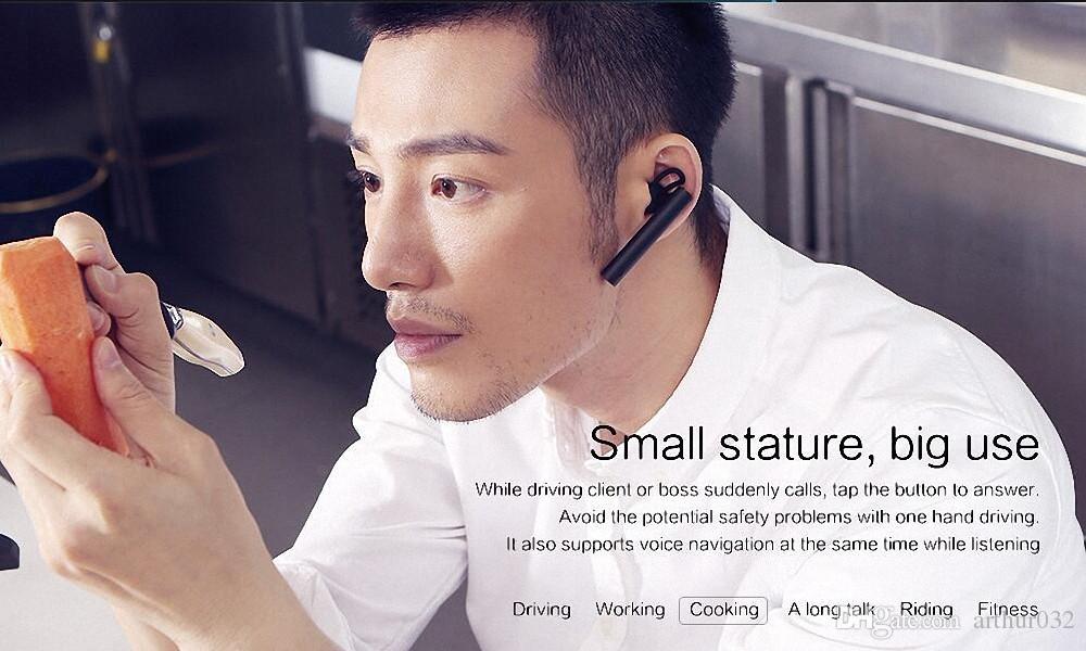 xiaomi Bluetooth наушники Xiao mi беспроводная молодежная версия гарнитура встроенный микрофон Handfree 100% оригинал для смарт-сотовый телефон