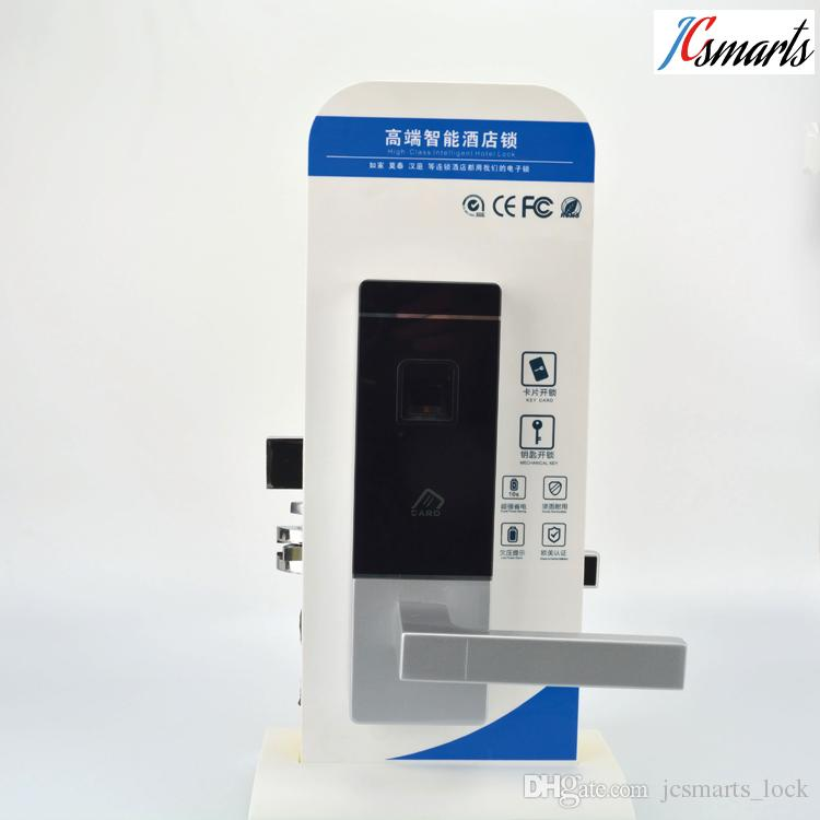 2018 Zinc Alloy Material Fingerprint Door Access System House Door Entry  Lock With Ic Card Reader And Hidden Key Holes From Jcsmarts_lock, $160.81 |  Dhgate.