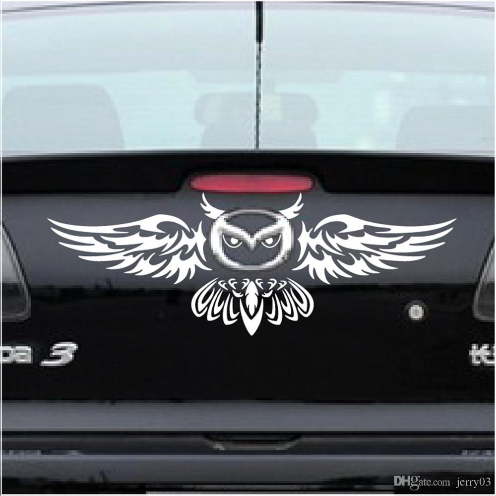 2019 newest car rear logo decoration owl styling funny car sticker anbd decal for mazda 2 3 5 6 cx 3 cx 5 cx 7 mx 3 mx 5 axela from jerry03 1 73 dhgate