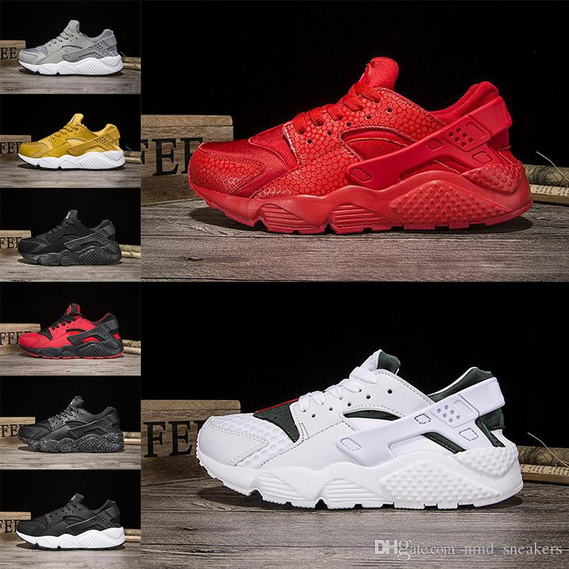 Classic Four Army Green Black Pink Black White Men & Women's Huarache Shoes Huaraches Shoes Sneakers Size 36-47 Air Huarache Manchester cheap online cheap footlocker finishline cheap sale collections 3Sxvty1h