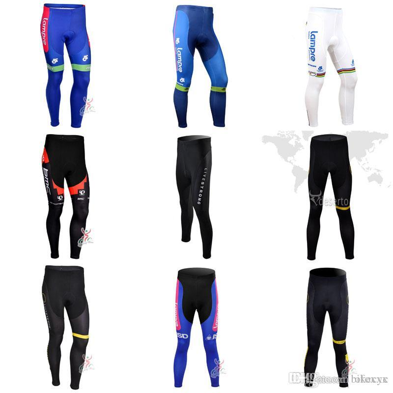 KUOTA LAMPRE LIVESTRONG Team Cycling Pants Wholesale New Mountain Bike  Breathable Tight Man Style Sportswear GEL Pad C2831 KUOTA Cycling Clothing  Cycling ... ef21b90f1