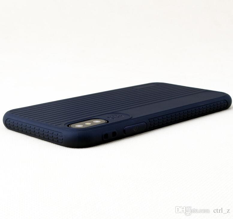 Custodia in silicone TPU sottile iPhone X 5.8