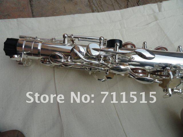 Kopya Müzik Aletleri Jüpiter JAS-567GL Alto Saksafon E-Flat Ayarlama Yüzey gümüş kaplamalar Kaplama Profesyonel Sax ile Kılıf