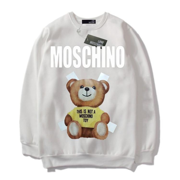 602252ee4046 2019 Man Autumn And Winter New Pattern Sleeve Head T Shirts Sweater Male  White Background Motion Tide Loose Hoodies Sweatshirts From Fenash99, ...