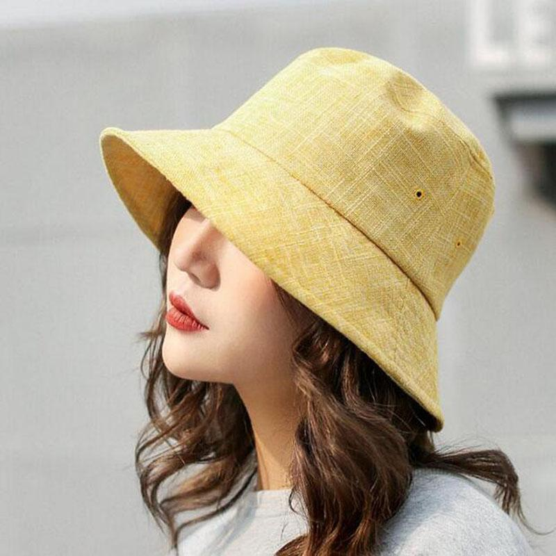 6e416843b347b BINGYUANHAOXUAN Puli Women S Packable Fisherman Bucket Hat Outdoor Hat With  Chin Strap Sun Protective Fedoras Beanie Hats From Lovesongs