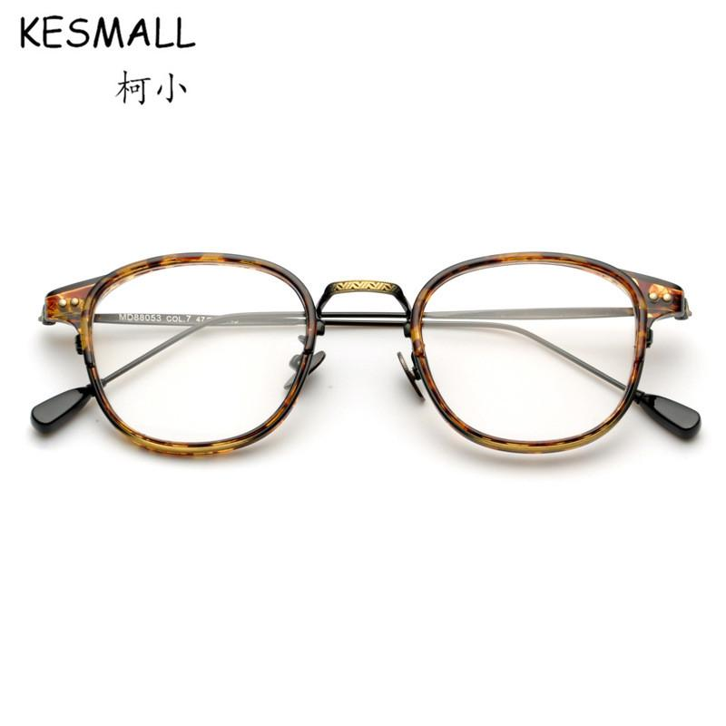 cbabea07db 2018 Vintage Eyeglasses Women Fashion Optical Eye Glasses Frames Men ...